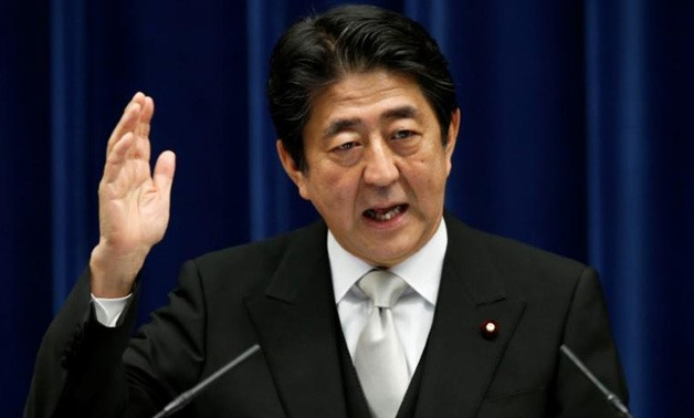 Japanese Prime Minister Shinzo Abe - File Photo