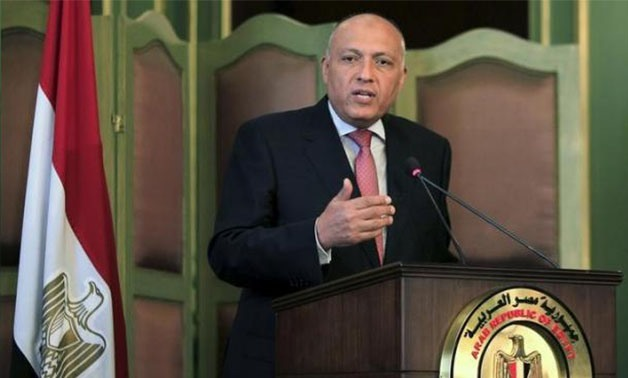 Egyptian Foreign Minister Sameh Shoukry - File photo