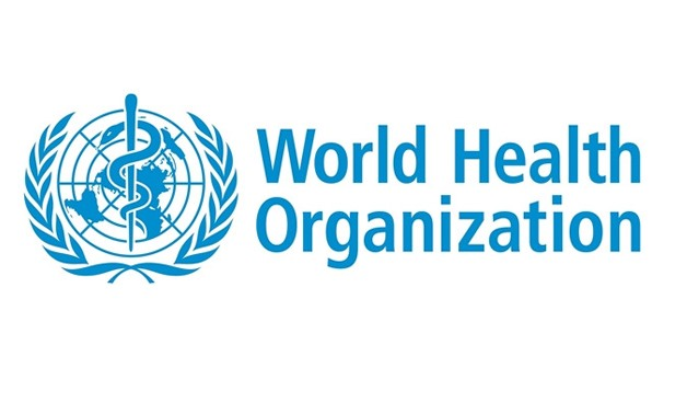 The World Health Organization (WHO) logo - Official website