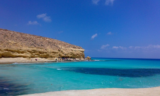 Matrouh S Wondrous Beach Competes With Red Sea In Summer Egypttoday