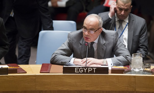 Amr Abdellatif Aboulatta, Chair of the Counter-Terrorism Committee