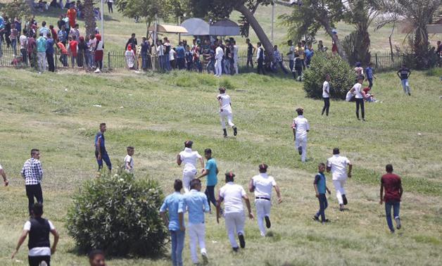 Police arrest harassers at Fustat Park on Sunday- Hazem Abdel Samad