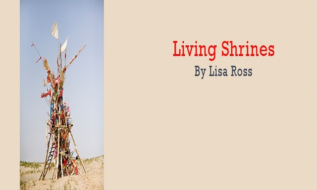 Living Shrines poster at Gulf Photo Plus via Gulf Photo Plus