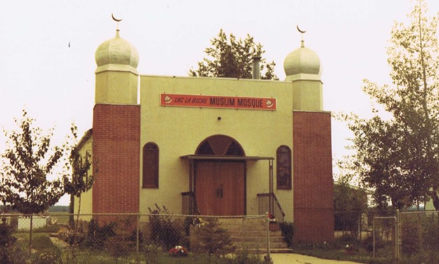 Lac La Biche Mosque- photo via Lac La Biche museum website
