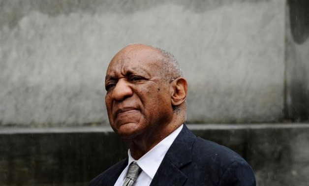 Actor and comedian Bill Cosby departs after a judge declared a mistrial in his sexual assault trial at the Montgomery County Courthouse - REUTERS/Charles Mostoller