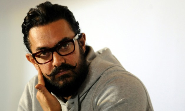 """Bollywood star Aamir Khan's hit wrestling movie """"Dangal"""" has become the first Indian film to make 20 billion rupees as it takes China's cinemas by storm - AFP"""