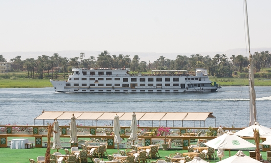 Nile cruise in Luxor, Egypt (Photo credit: Jay Galvin)