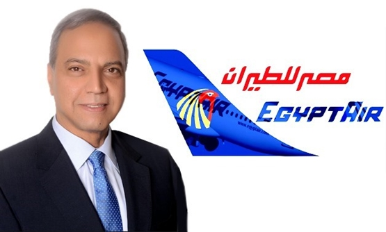 FILE: Head of EgyptAir Holding Company Safwat Mosallam