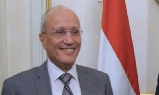 FILE - Minister of State for Military Production, Mohammed Saeed Al-Assar