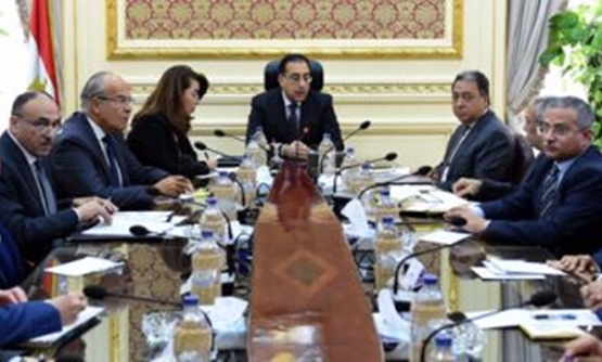 FILE: The Cabinet, headed by the acting Prime Minster Mustafa Madbouli, review on Wednesday a comprehensive report on the duties carried out by various ministries and bodies with regard to developing the services provided to residents of al Rawda village