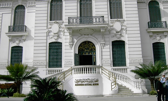Entrance of Alexandria National Museum, Feb.16, 2006 – Wikimedia/papillus