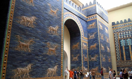 Ishtar Gate at Museum of Berlin – Photo Courtesy of Wikipedia
