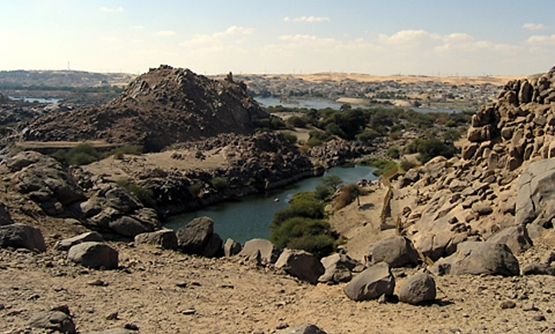 Over view of Sehel island, Aswan – Egypt monuments website