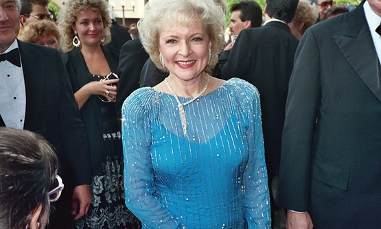 Betty White at the 1988 Emmy Awards, August 1, 1988 - Alan Light/Wikimedia Commons
