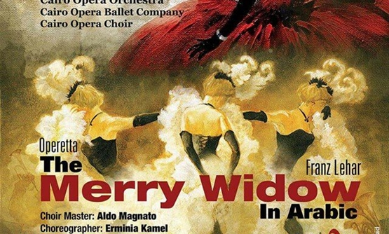 """The Merry Widow"" operetta - Cairo Opera House facebook page"
