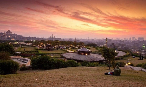 A view of Al-Azhar Park – Best Places Egypt Facebook page
