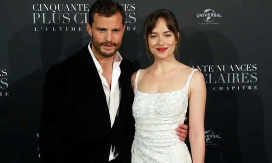 The film stars Jamie Dornan and Dakota Johnson.