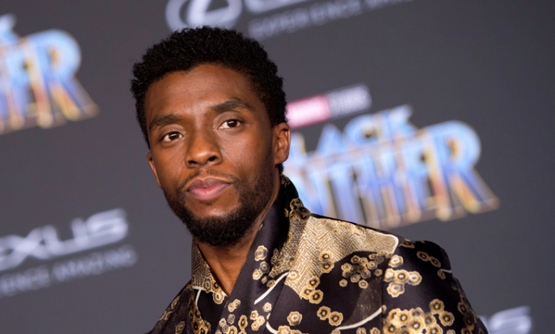 Chadwick Boseman, plays the titular superhero in 'Black Panther,' which is continuing to dominate in North American theaters