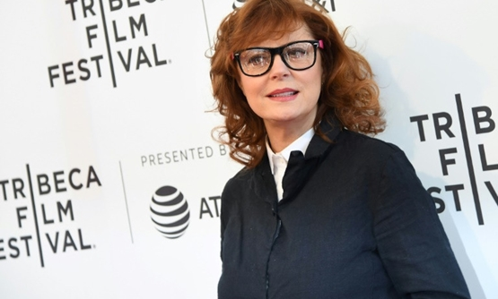 "Oscar winner Susan Sarandon -- shown here at the premiere of 'Bombshell: The Hedy Lamarr Story' during the 2017 Tribeca Film Festival in New York -- will star in ""Vulture Club,"" the first movie produced by YouTube for theatrical release"