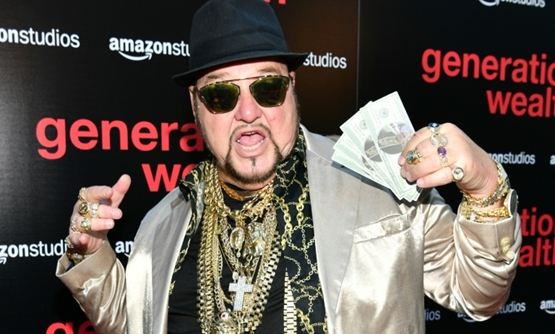 "Limo Bob, a character in ""Generation Wealth"" for whom the word ""bling"" could have been invented, is seen at the film's premiere."