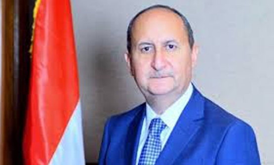 FILE - Minister of Industry and Trade Amr Nassar