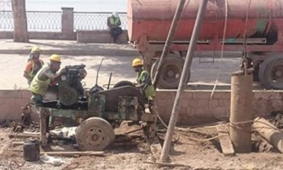 Groundwater lifting works in Aswan - Egypt Today