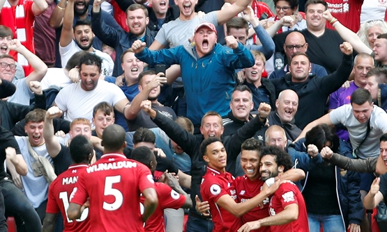 edea3ade0 Relentless Liverpool sweep aside Tottenham to stay top