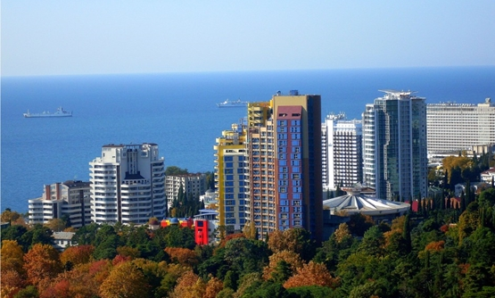 Sochi view - Wikimedia Commons.