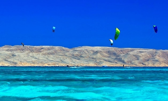 Kiteboarding in Hurghada - Photo courtesy of Trip Advisor