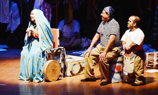 FILE – Previous Arab Theater Festival play