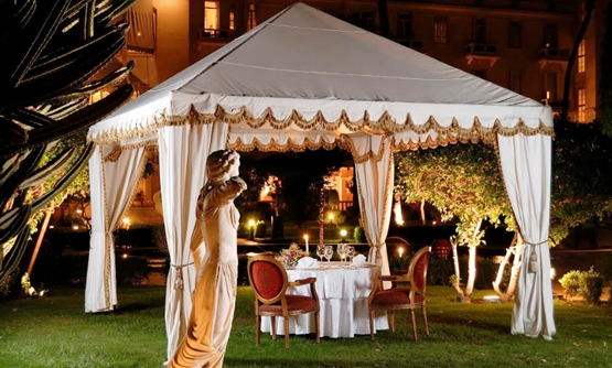 Royal Romantic BBQ Dinner at the Garden by Sofitel Luxor Winter Palace