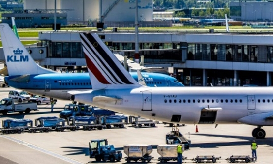 Strikes and higher fuel costs couldn't keep Air France-KLM's profits on the ground ANP/AFP/File