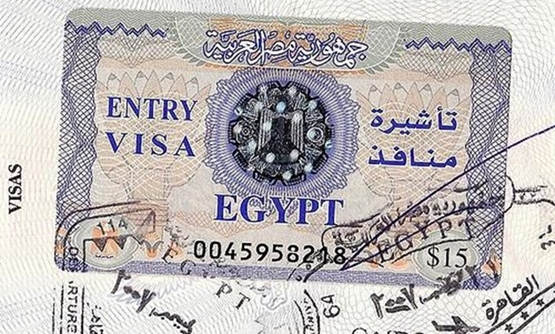 FILE - Egyptian Visa – Flickr/Georgia Popplewell