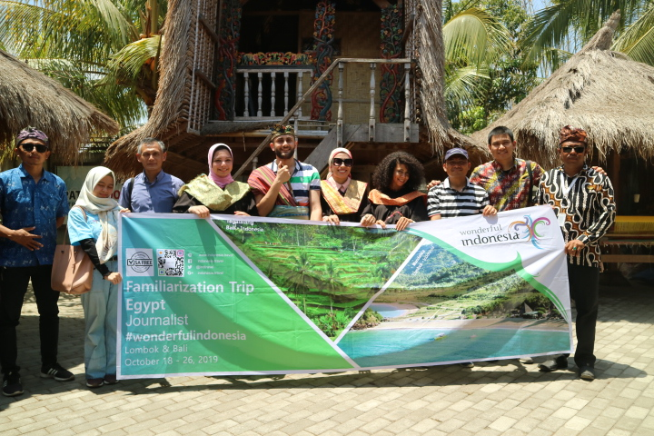 Sasak Village - Famtrip organized by the Indonesian Embassy in Cairo - source Egypt Today 2