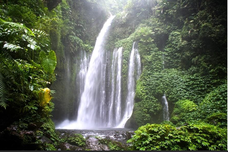 Sendang Gile and Tiu Kelep Waterfall - Source Wonderful Indonesia - Official website of the Ministry of Tourism