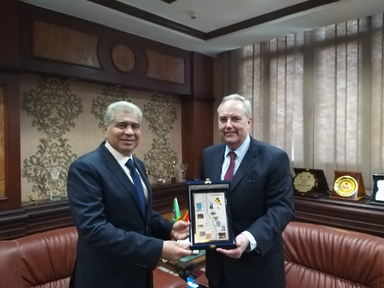 CDA Goldberger Meets with the Minya Governor