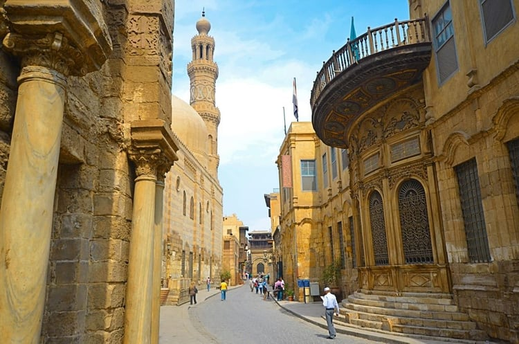 Another view of al muizz st