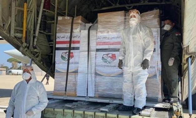 Egypt sends medical aid to DR Congo