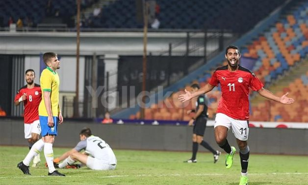 Egyptian Olympic team crowns international championship Champions after beating Brazil 2-1