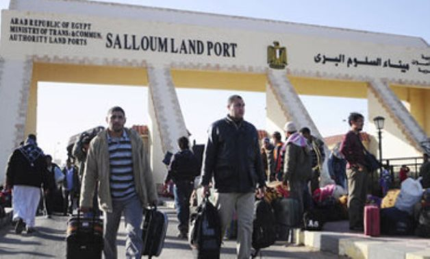 Libyan interior security force arrives at Musaid border crossing with Egypt to impose security
