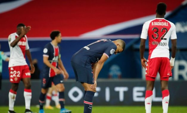 PSG fall behind in title race with defeat to Monaco
