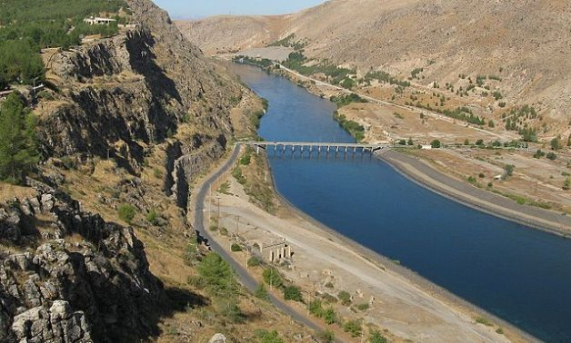 Catastrophic decline of Euphrates River water level