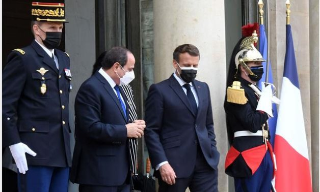 Egypt's Sisi, France's Macron discuss ongoing Palestine-Israel conflict, GERD issue