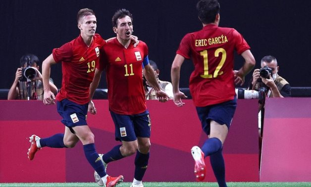 Spain end 21-year wait for Olympic goal, win