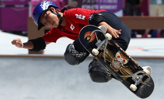 Skateboarding-Teens and tweens from Japan, Britain shred to victory