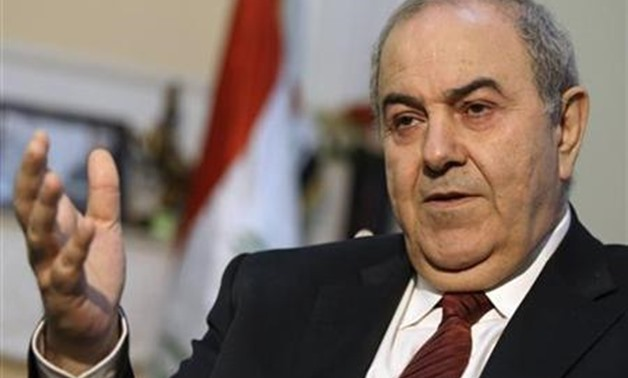 Iraqi VP Ayad Allawi proposed seven-item national initiative ...