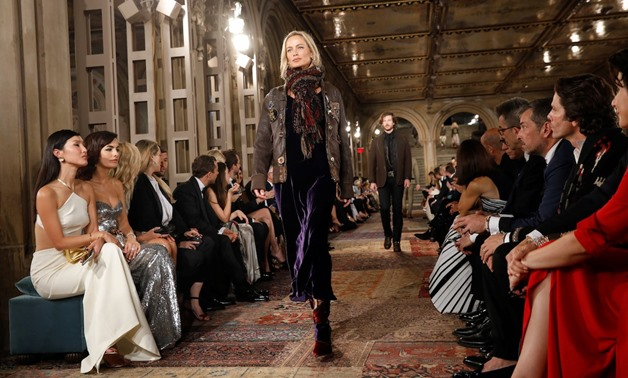 Designer Ralph Lauren Marks 50th Anniversary With Central Park Fashion Gala Egypt Today