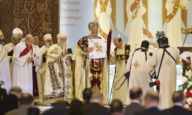 Christmas With The Pope Mass 2020 Pope Tawadros II leads 2020 Christmas Mass at Cathedral in