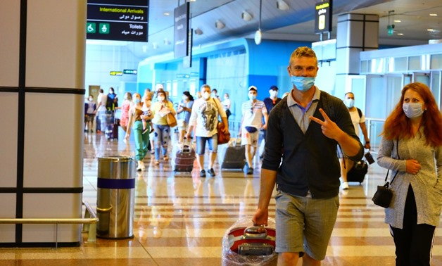 Pics: Egypt receives tourists from many states as airports open up