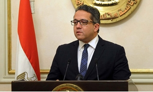 FILE- Minister of Antiquities Khaled el Anany